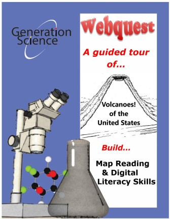 volcano US webquest cover