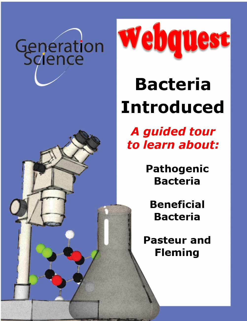 bacteria webquest cover