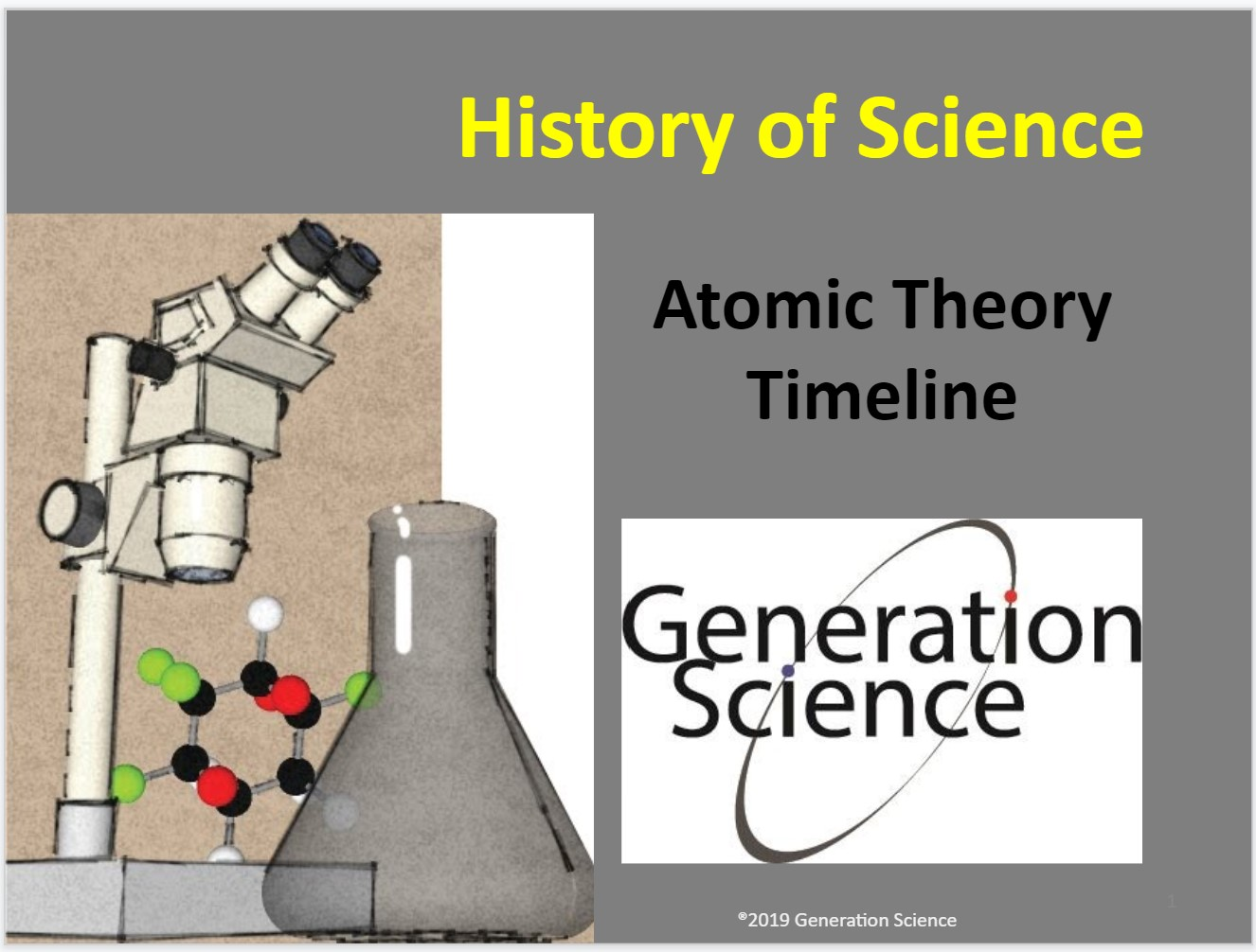 atomic theory timeline ppt cover