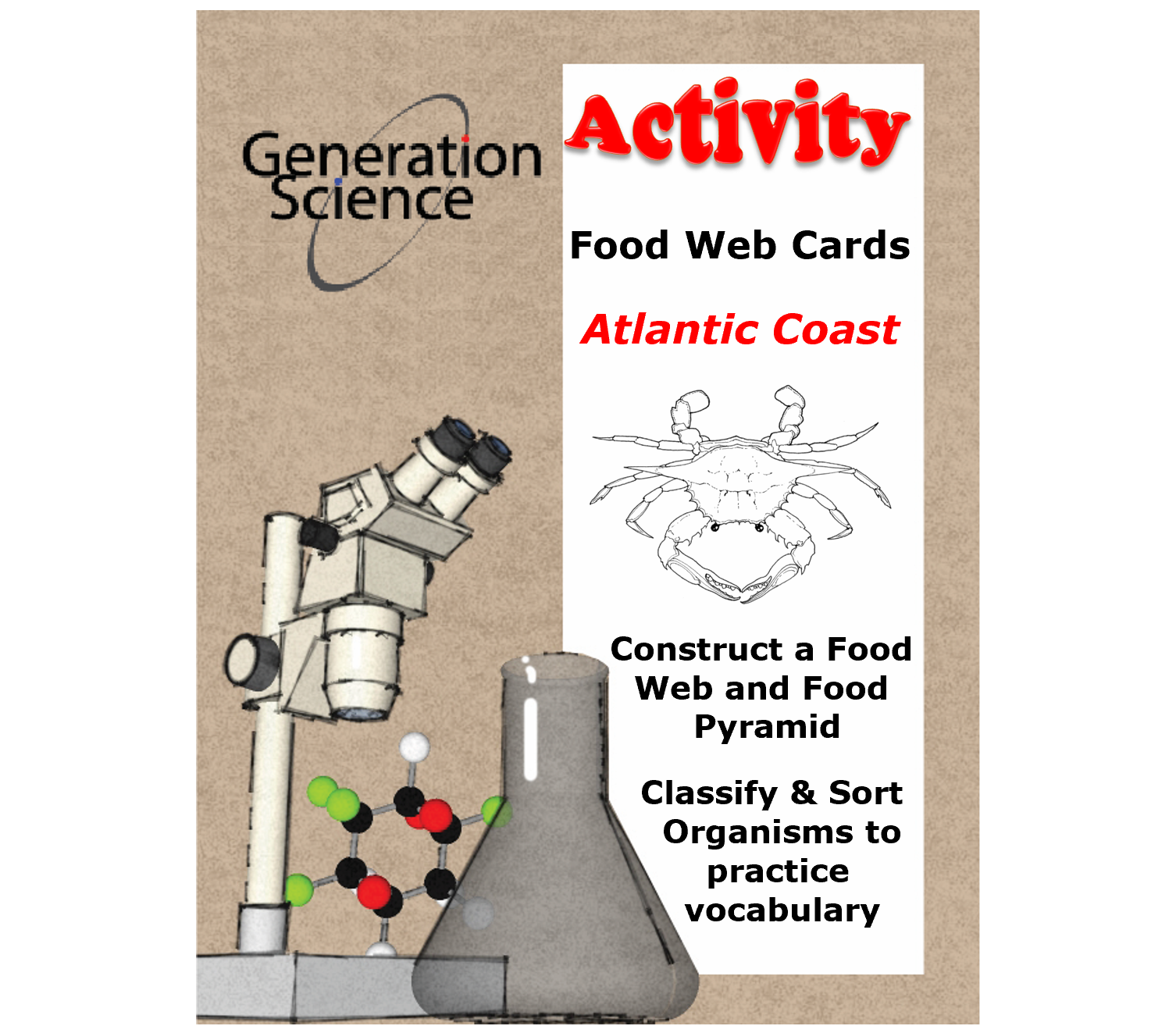 ocean food web COVER PAGE 1