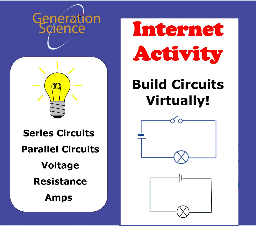 Internet Activity:  Build Circuits Virtually!